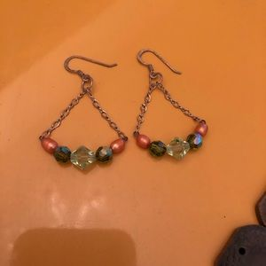 3/$10 Beaded Dangling Earrings